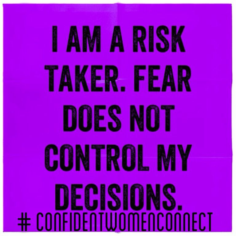 i am a risk taker