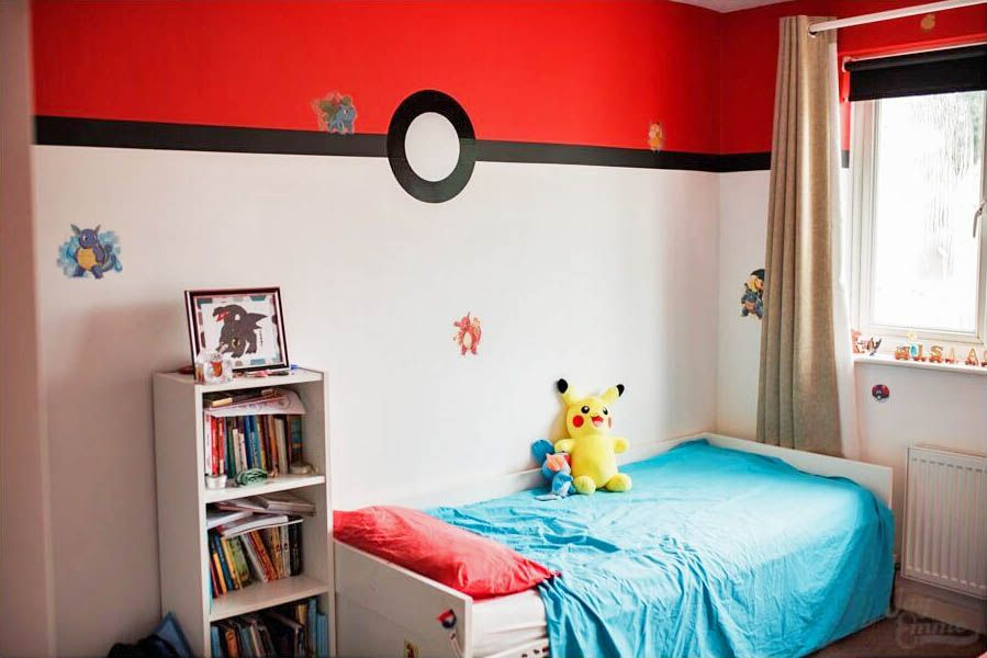 20 Best Pokemon Bedroom Ideas The Handy Guy Pokemon Room Boys Bedroom Decor Kid Room Decor