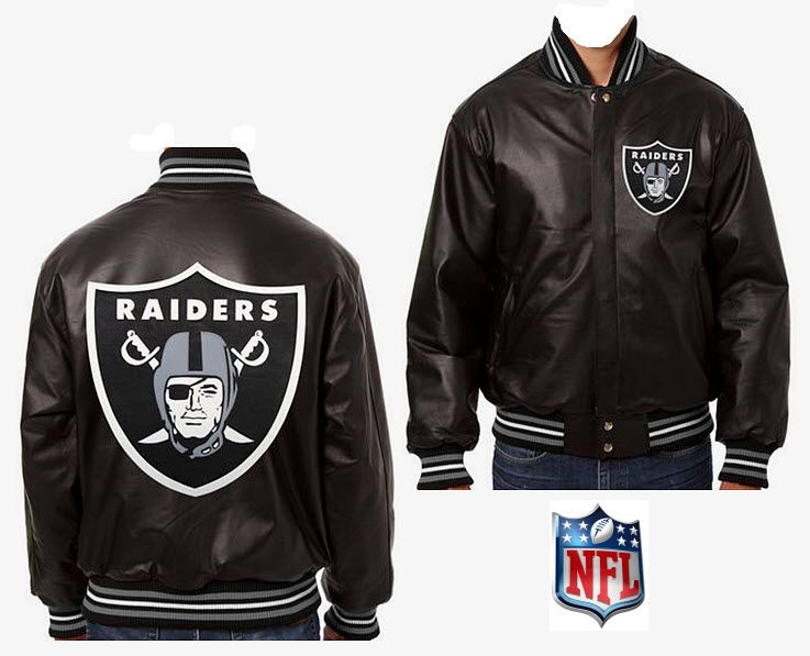 finest selection dcde8 e5bec Speedway Jackets Plus: Oakland Raiders Handmade in the USA ...