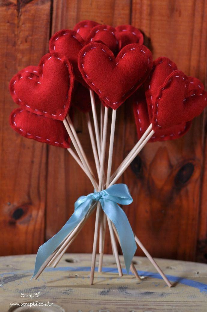 Idéia de decor para o Valentine's Day