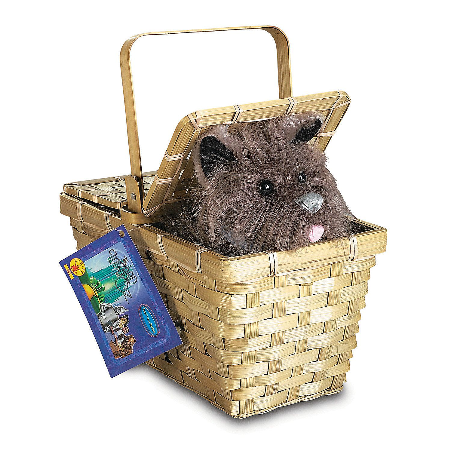 Deluxe Toto with Basket Wizard of oz, Halloween