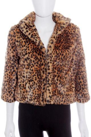 Chaqueta barata- Xdye (Pull&Bear) imitación piel estampado leopardo