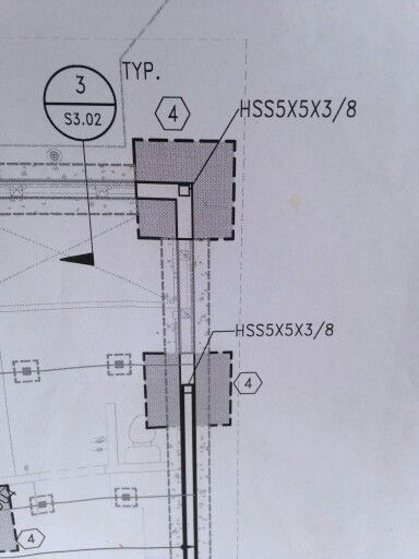Studying Structural Steel Details for our Wrightwood project.