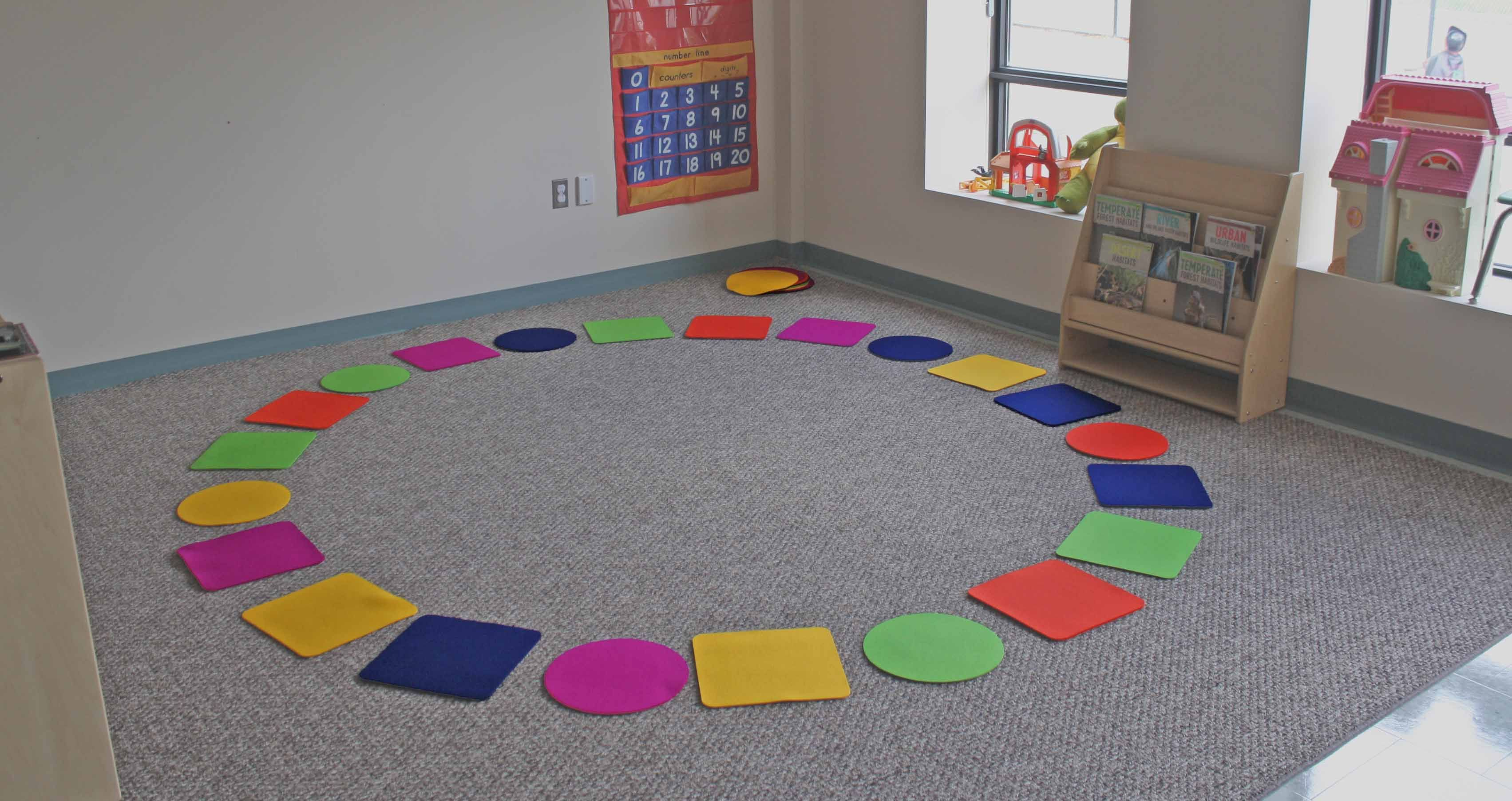 Individual Circle Time Rugs Toddler Circle Time Circle