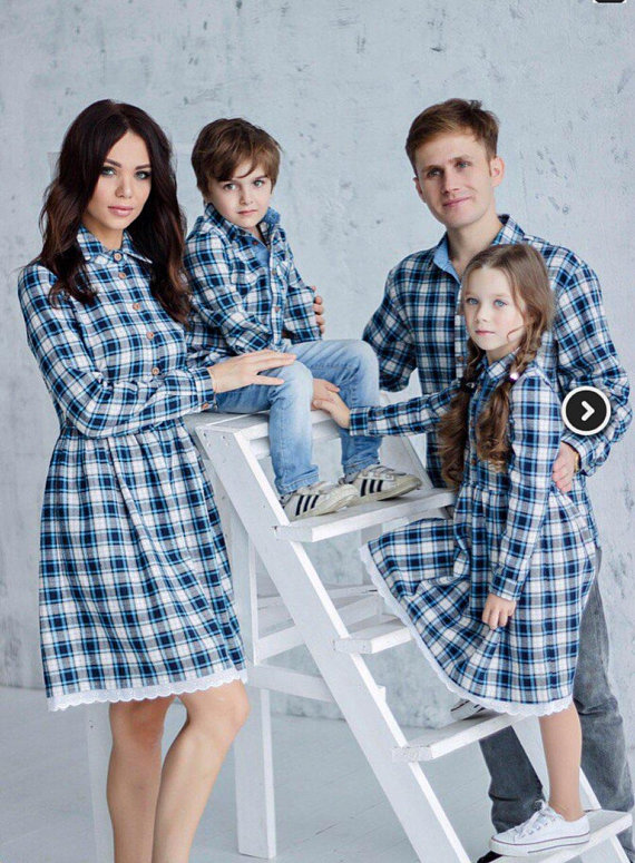67e308177db9 Family Matching Outfit  Mother s Dress matching look women cotton dress  women clothes dress for mom