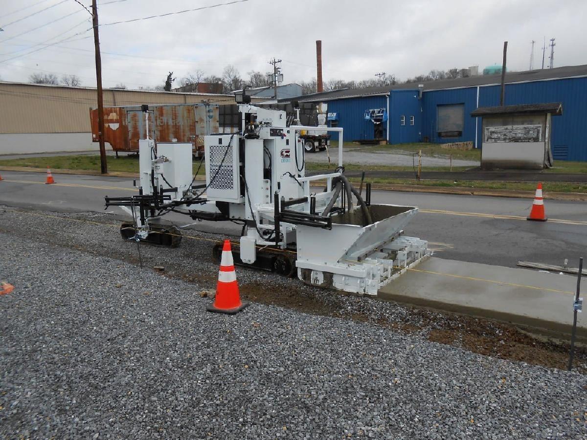 Slipform Machine Concrete Paving Construction Machines Construction