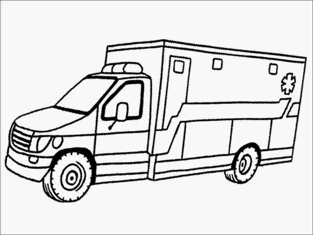 Best Printable Ambulance car coloring pages 999