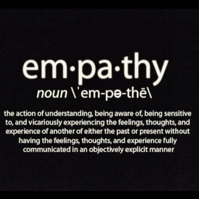 Empathy Quotes Amusing Empathy Quote 2Empathy Quotes On Picturequotes Empathy