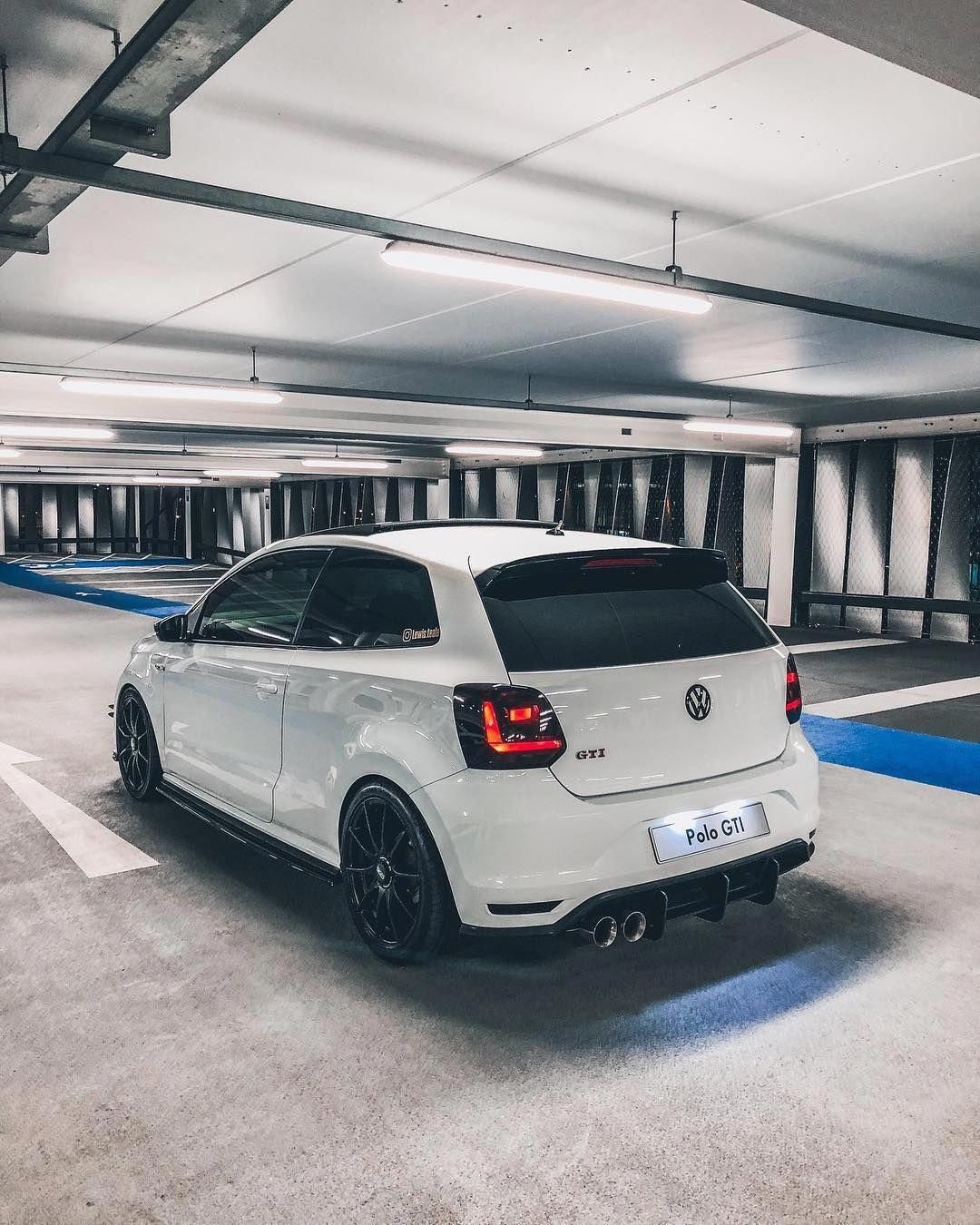 Best Car Park Lighting Ever. #polo6cgti @lewis.teale On