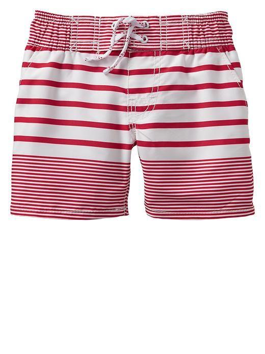 fb5add8377 Gap | Paddington Bear™ for babyGap stripe swim trunks ...