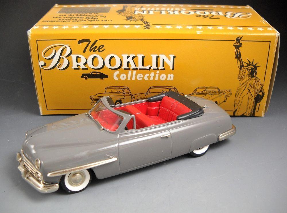 Brooklin Models BRK 94 1949 LINCOLN COSMOPOLITAN CONVERTIBLE Made in England   #Brooklin #LincolnCosmopolitanConvertible