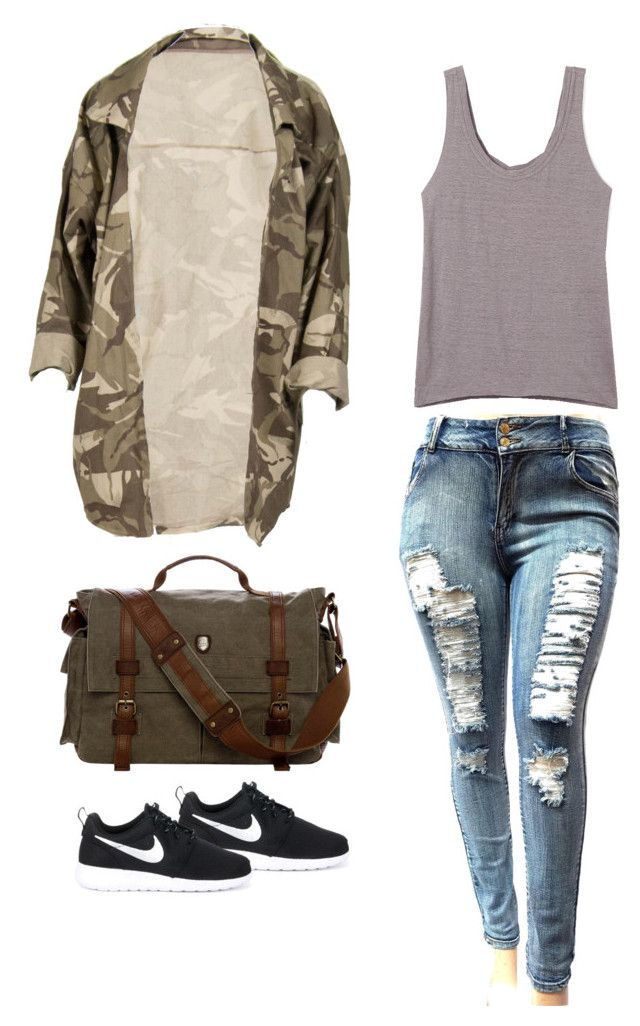 """Untitled #211"" by ichanee on Polyvore featuring Rebecca Minkoff and NIKE"