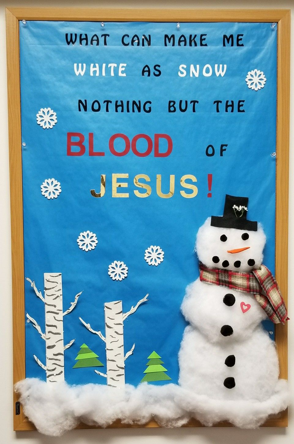 January 2018 Winter Bulletin Boards Christmas Sunday School