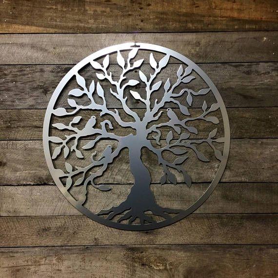 Front Door Wreath Metal Tree Of Life Tree Of Life Wall Art Metal