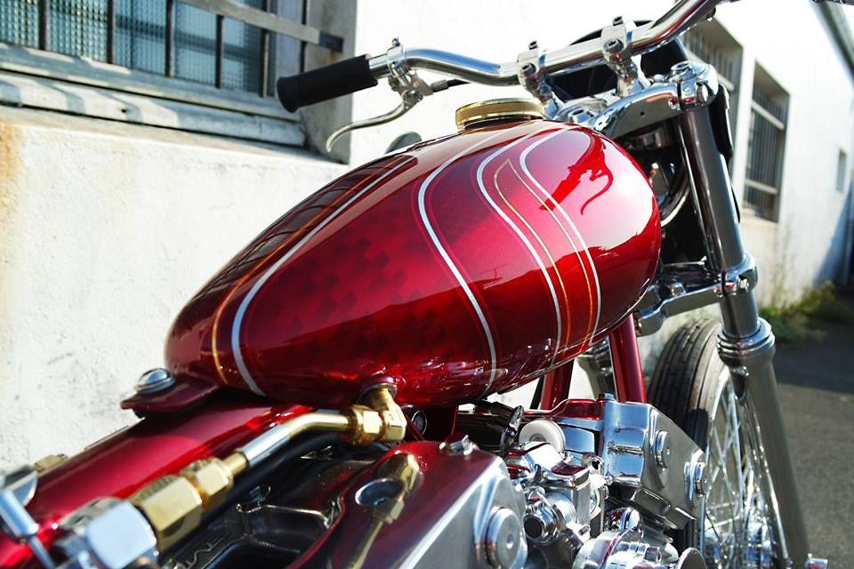 "Second Chance"" custom Harley-Davidson XL1200C Sportster by"