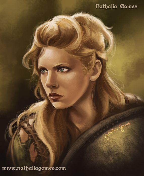 Lagherta from Vikings series