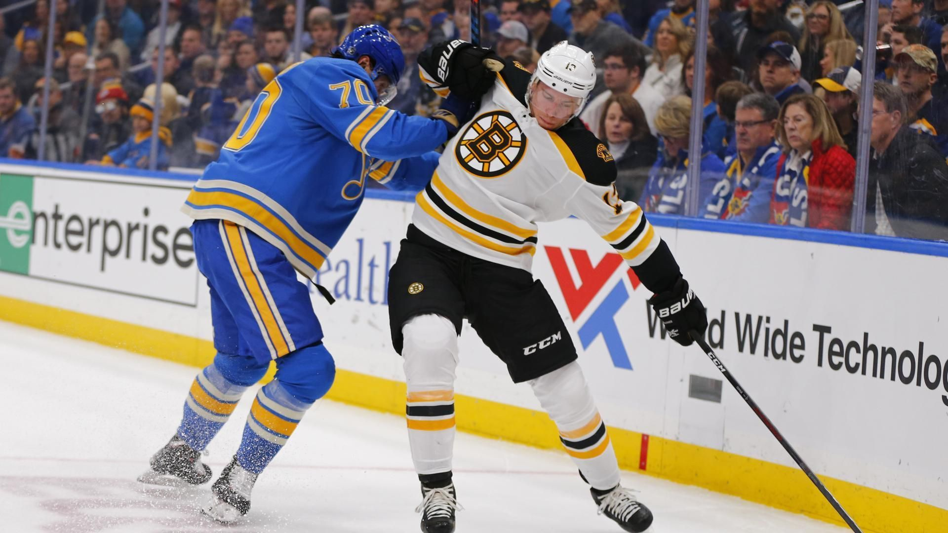 Blues End Bruins Seven Game Winning Streak In Shootout The Boston Globe Bruins St Louis Blues Usa Today Sports