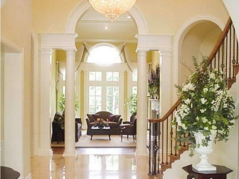 Ideas For Foyers entryway design ideas: foyer decorating ideas with the lobby lux