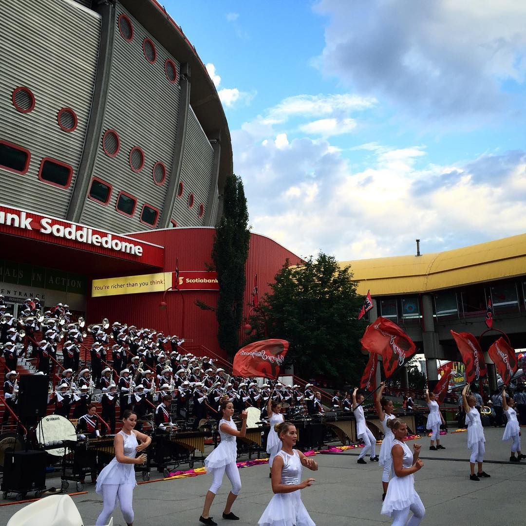 The Scotiabank Saddledome came alive with music and ...