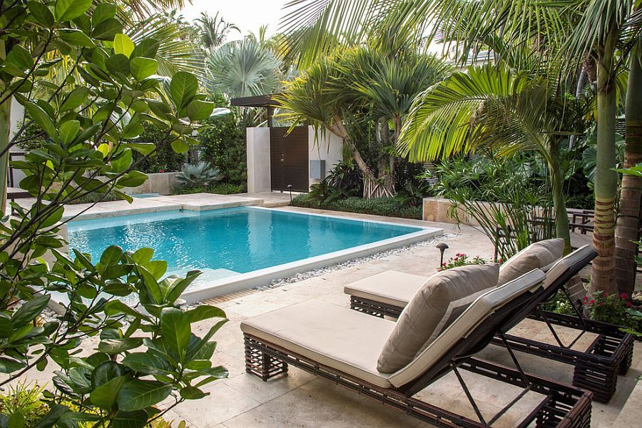 Ordinaire Backyard Paradise: 25 Spectacular Tropical Pool Landscaping Ideas