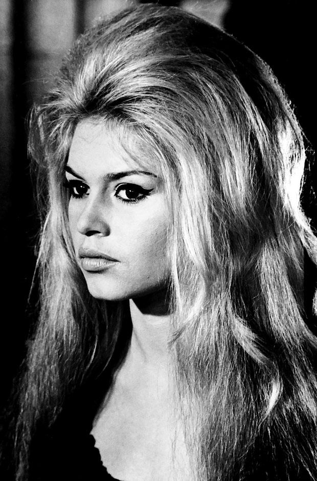 f50cf09077dd1b Brigitte Bardot s thin arched brow (if you wear thick 60 s style liquid  liner