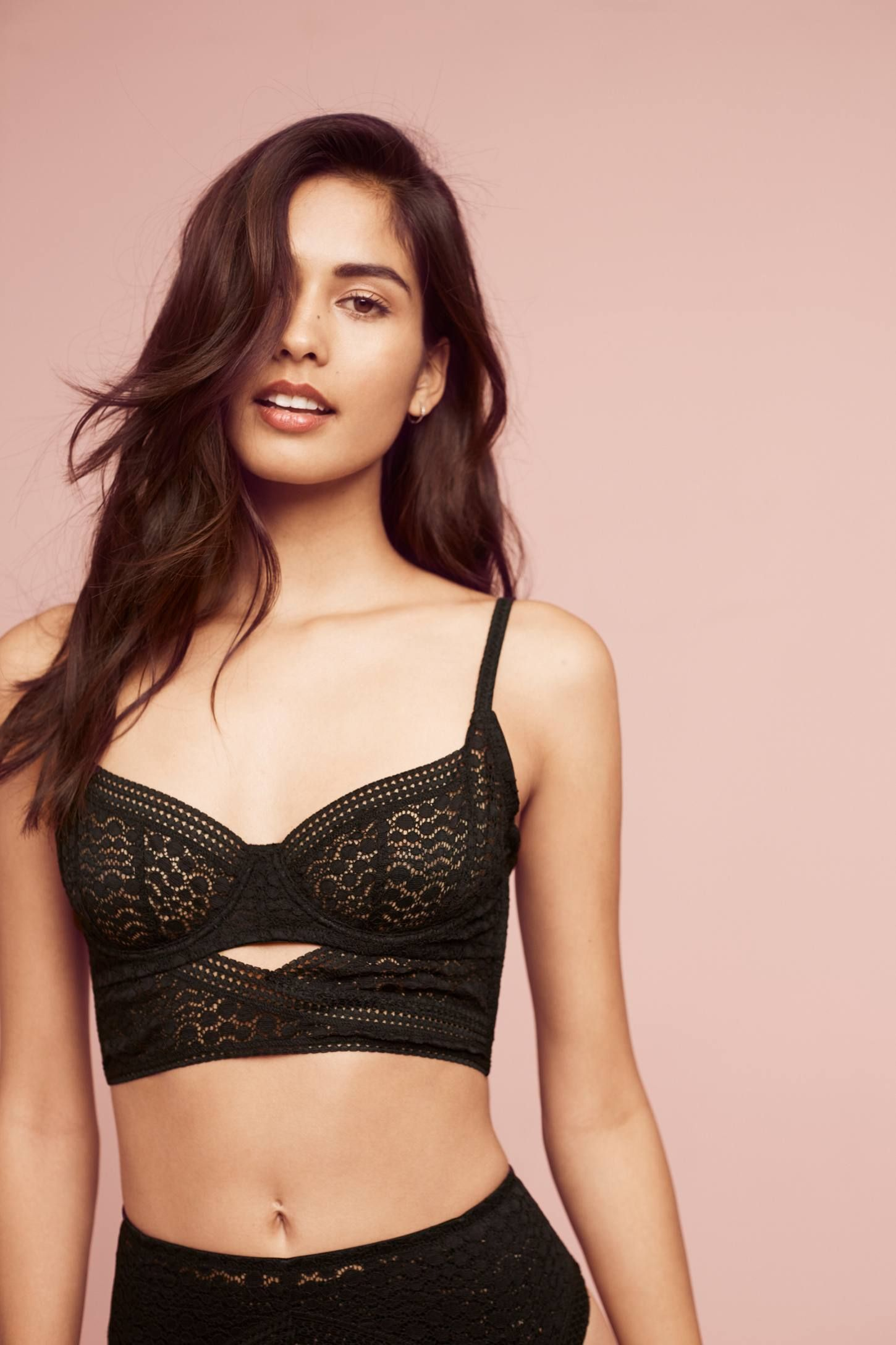 4e99ef6c0e8 Shop the Else Pebble Long-Line Bra and more Anthropologie at Anthropologie  today. Read customer reviews