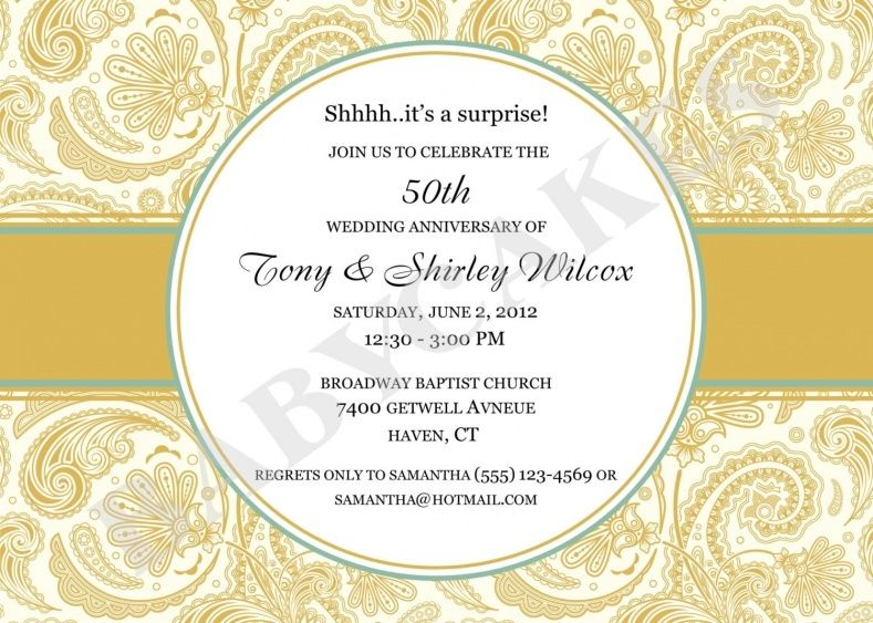 50th wedding anniversary invitations templates wedding ideas 50th wedding anniversary invitations templates stopboris Gallery