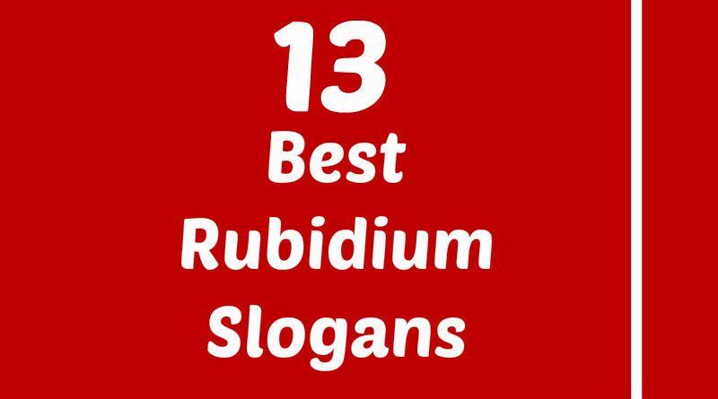 Rubidium Slogans Science project Pinterest Slogan, Atomic - new periodic table w atomic number