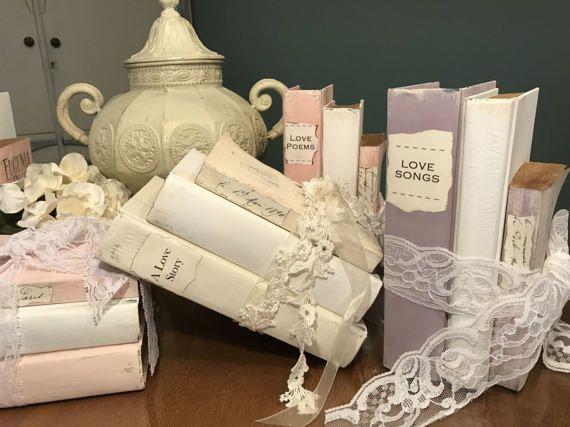 Wedding Decor Using Books