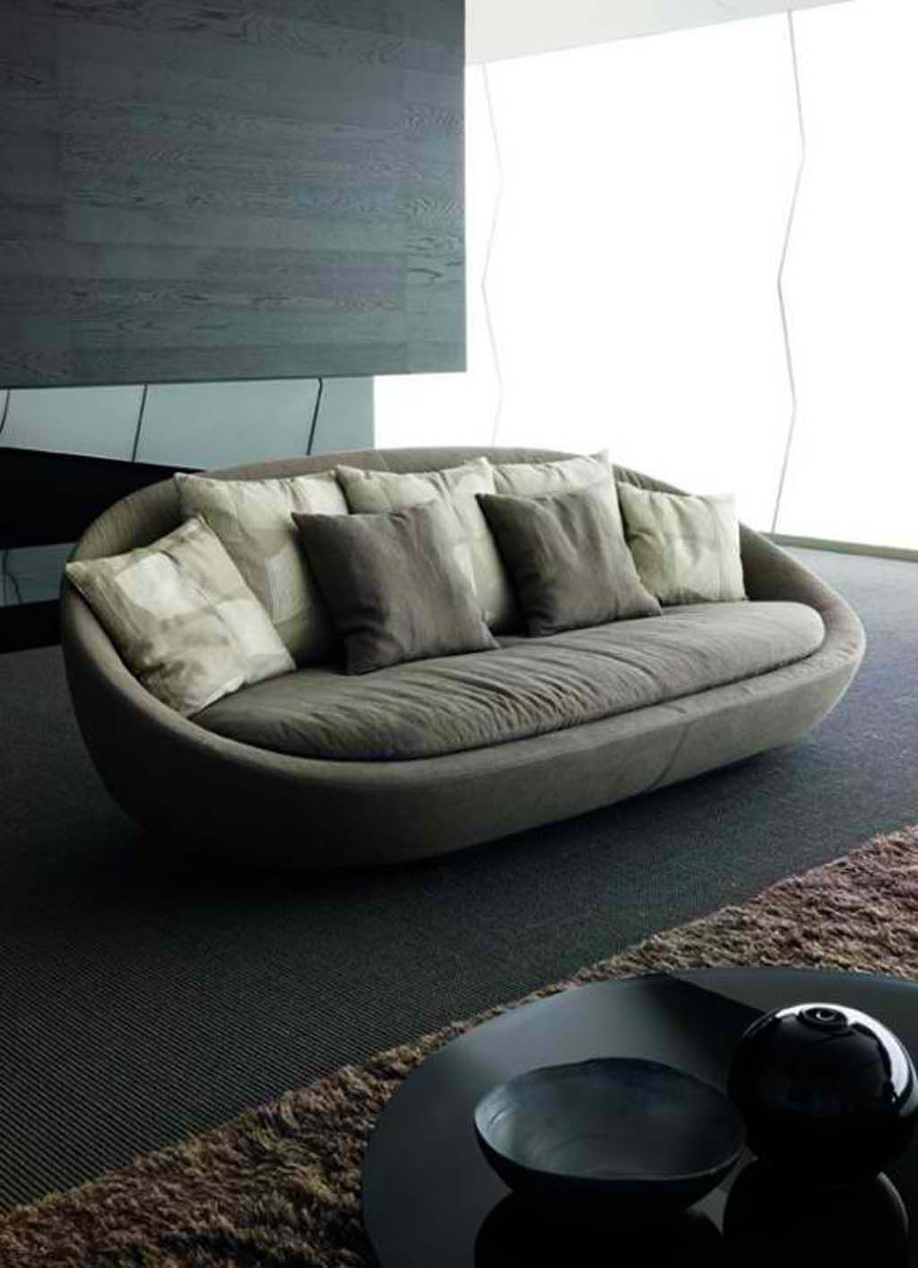 Oval Sofa Modern Sofa Designs Modern Furniture Living Room