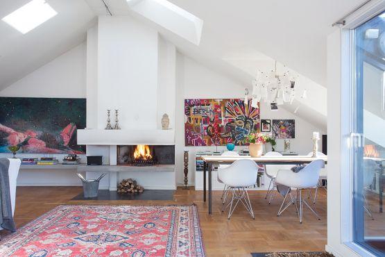 Mezclar piezas y estilos en la decoración de casas