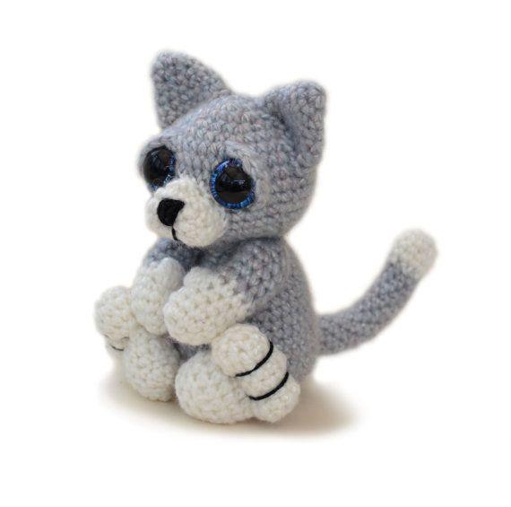 Kätzchen Sie-Katze Amigurumi Häkeln Muster PDF von PatchworkMoose ...