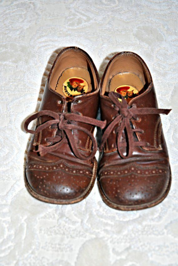 e5eff9cd0e0cb Buster Brown shoes | Remember this? | Vintage shoes, Brown shoe, Old ...
