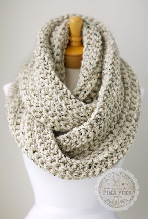 One Skein Infinity Scarf FREE CROCHET PATTERN - Google Search ...