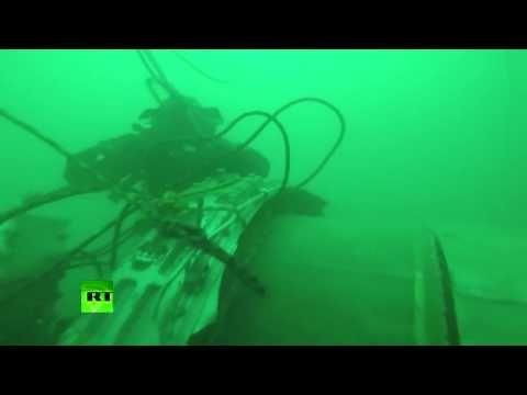 Primeras imágenes desde el fondo del mar donde se estrelló el Tu-154 ruso - http://www.notiexpresscolor.com/2016/12/28/primeras-imagenes-desde-el-fondo-del-mar-donde-se-estrello-el-tu-154-ruso/