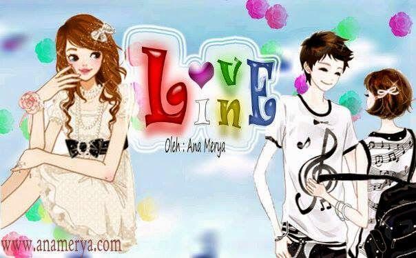 "Cerpen Pendek Terbaru ""Love Line"" | Gadis animasi, Animasi ..."