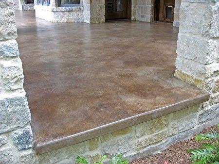Gentil Patio Concrete Stain U0026 Sealer By CrisC