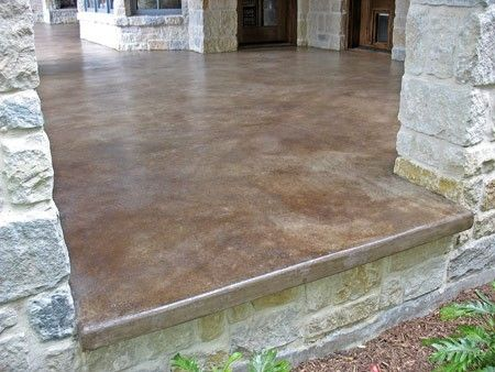 Patio Concrete Stain U0026 Sealer By CrisC