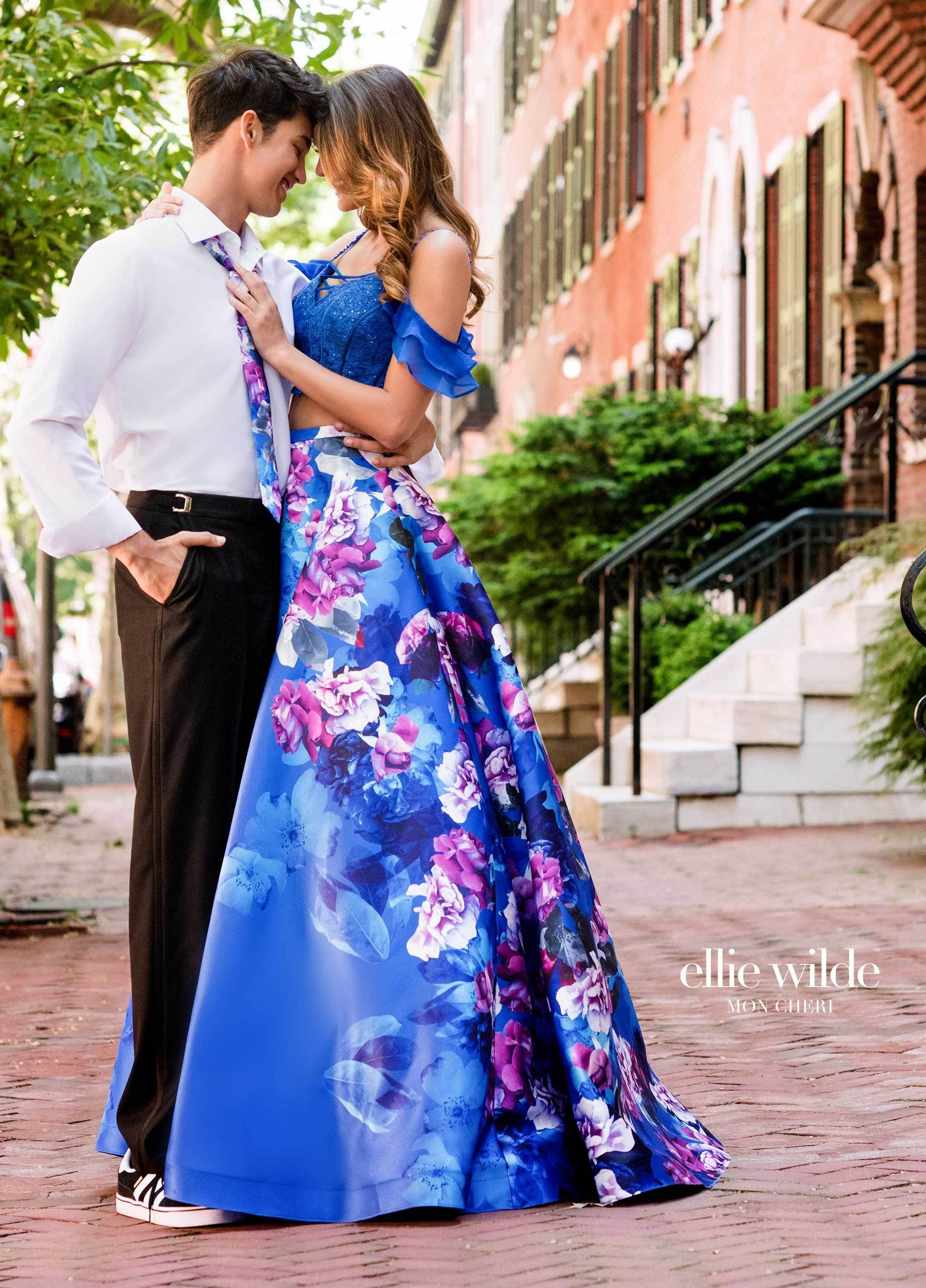 Ellie wilde ew prom unique dresses and royal blue