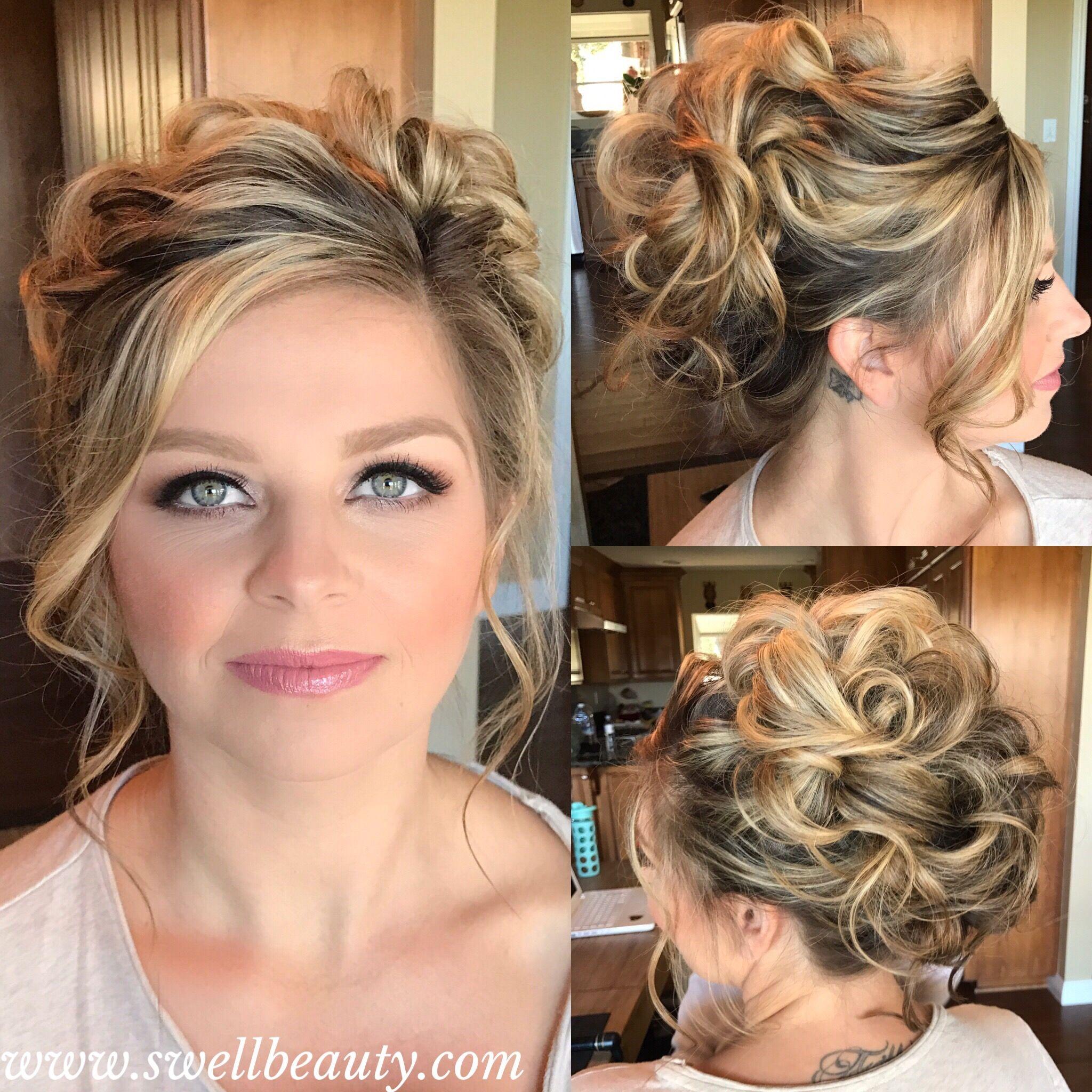 bridal hair trial} hair + makeup by dee + asst phaithe