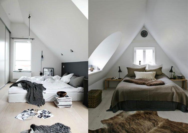 op zoek naar inspiratie en ideeën voor een zolder slaapkamer? wij, Deco ideeën