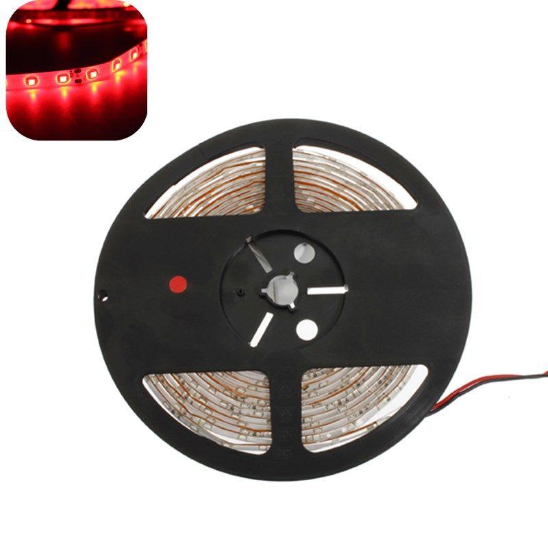 Red led strip lights 5m 300 led smd 3528 waterproof 12v dc lights red led strip lights 5m 300 led smd 3528 waterproof 12v dc aloadofball Gallery