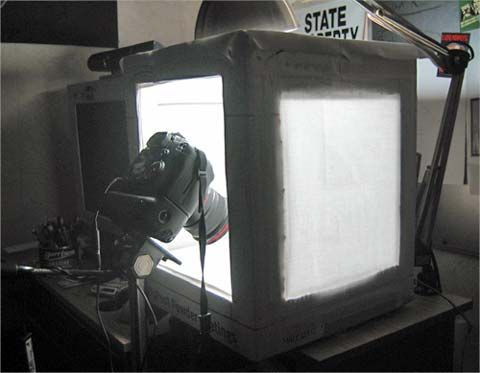 How to build a light box to take better pictures of your minis