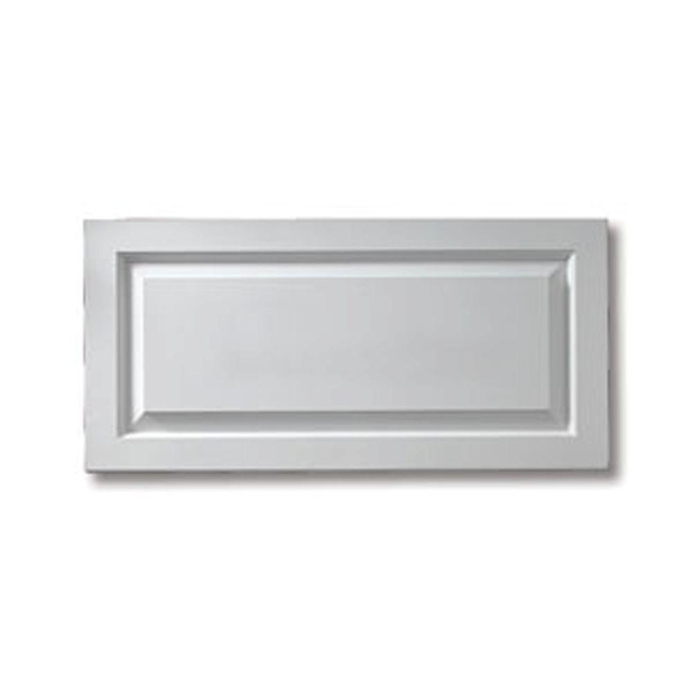 Fypon 1-1/8 in. x 24-3/4 in. x 41-3/4 in. Polyurethane Raised Window Panel, White
