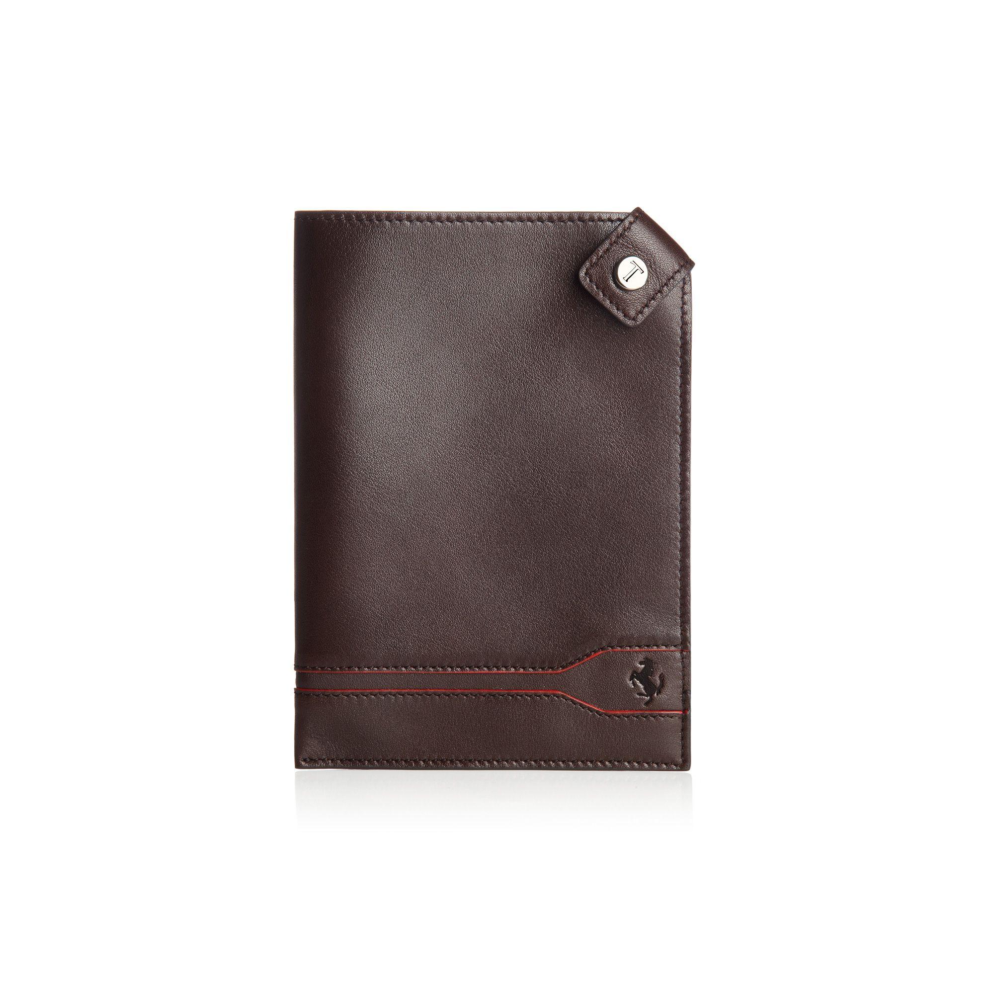 TOD'S FOR FERRARI | Line Design passport holder. Visit store.ferrari.com  #ferraristore #passport #holder #tods