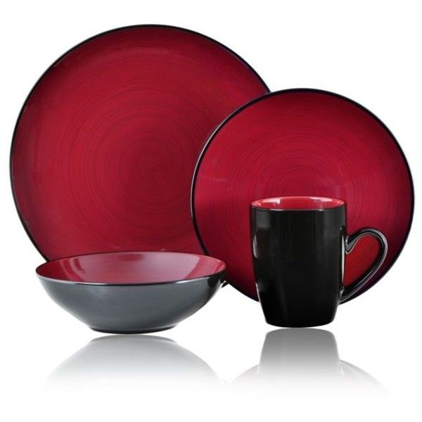 Thomson Pottery Domo 16-Pc. Dinnerware Set ($70) ❤ liked on Polyvore. Asian Dinnerware SetsRed DinnerwareAsian Dinner PlatesThomson ...  sc 1 st  Pinterest & Thomson Pottery Domo 16-Pc. Dinnerware Set ($70) ❤ liked on ...