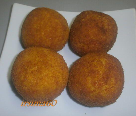 Arancini alla siciliana – Gefüllte Reiskugeln - Rezept