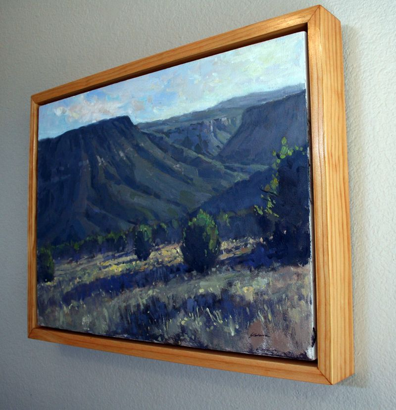 Do you have a lot of plein air paintings in your studio