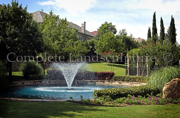 fountain and landscaping commercial