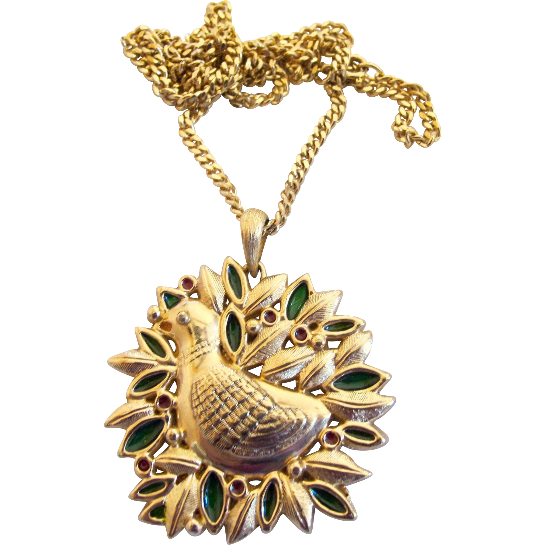 Vintage sarah coventry 1973 christmas pendant ornament partridge vintage sarah coventry 1973 christmas pendant ornament partridge in a pear tree aloadofball Images